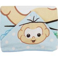 47a6008ba7055 Toalha De Banho Masculina Com Capuz Estampada Cebolinha Bebê - Masculino