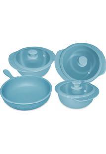Conjunto De Panelas Cerâmica Cookware Acqua Oxford
