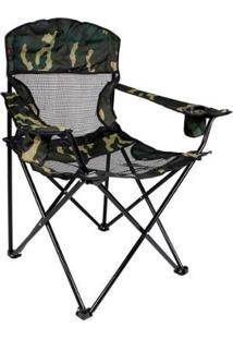 Cadeira Nautika Dobrável Fresno - Unissex-Camuflado