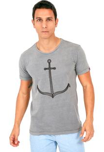 Camiseta Kahú Guardians Âncora Preto