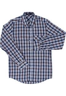 Camisa Detalhes Tassa Marrom