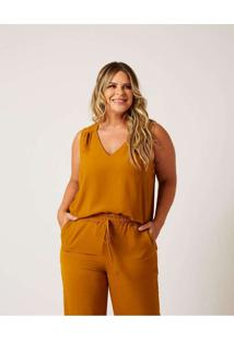 Regata Lisa Almaria Plus Size Ela Linda Decote V A