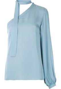 Egrey Blusa Lisa Ombro Só - Azul
