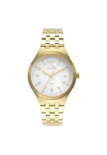 Relógio Technos Feminino Dourado Analógico 2036Mlws4B