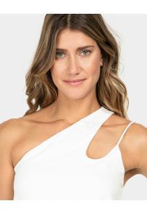 Blusa Ombro Só Branco Off White - Lez A Lez