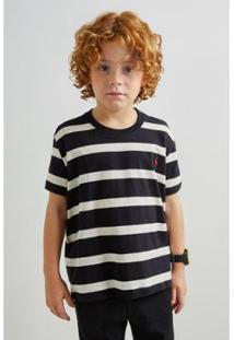 Camiseta Infantil Pf Reserva Ft Linho Joa Masculina - Masculino
