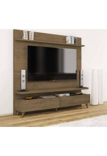 Estante Home Theater 2 Gavetas Para Tv Até 60 Polegadas Boss 180 X 182 X 40 Madeira Touch - Imcal