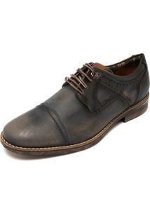 Sapato Couro Mariner Silverstone Azul-Marinho