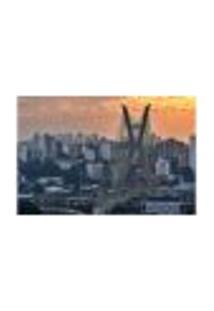 Painel Adesivo De Parede - São Paulo - Cidade - 1801Pnp