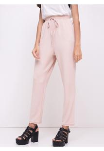 Calça Pijama Com Bolsos