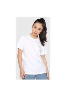 Camiseta Vans Faye Miss Branca