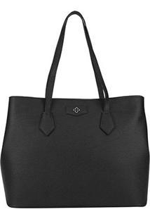 Bolsa Capodarte Shopper Soft Relax Feminina - Feminino-Preto