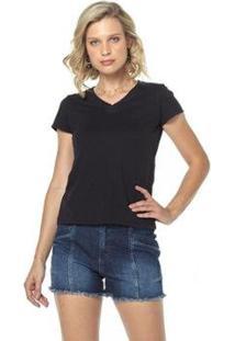 Camiseta Osmoze Z Feminina - Feminino-Preto