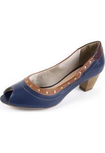 Sapato Miuzzi Azul Marinho - Kanui