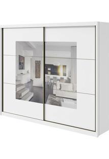 Guarda-Roupa Toronto Plus Com Espelho - 2 Portas - 100% Mdf - Branco