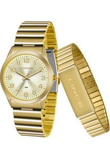 Kit Relógio Feminino Lince Lrg4455L Kt81C2Kx