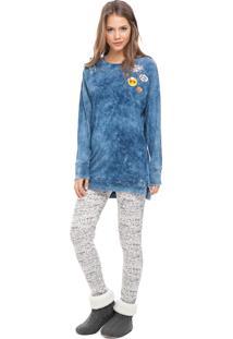 Pijama Legging Lua Luá Hello Lovely Jeans