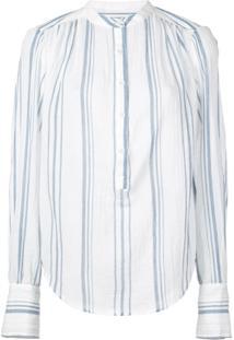 Frame Blusa Listrada - Azul