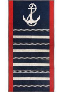 Toalha De Praia - Appel - Beach Navy
