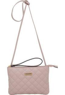Mini Bolsa Smartbag - Feminino-Nude
