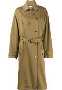 Isabel Marant Étoile Trench Coat Tipo - Neutro