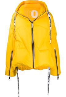 Khrisjoy Oversized Puffer Jacket - Amarelo