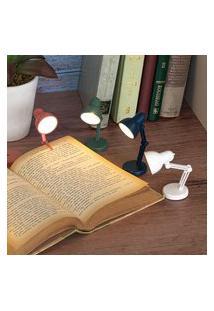 Luminária Para Leitura Vintage Lamp Azul Marinho 01