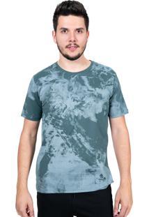 Camiseta Baiki Badhai Básica Estonada Verde