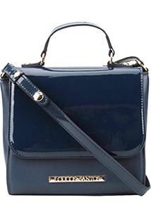 71109a89c Bolsa Azul Marinho Santos feminina. Bolsa Loucos & Santos Mini Bag ...