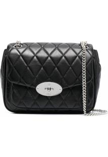 Mulberry Darley Quilted Shoulder Bag - Preto