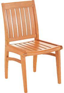 Cadeira Fixa Marrom Claro - Tramontina