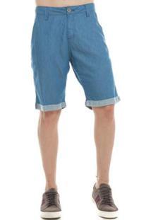 Bermuda Jeans Eventual Casual Feminina - Feminino