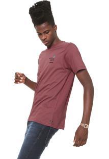 Camiseta Volcom Cluster Vinho