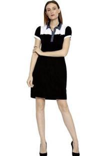 Vestido Energia Fashion Polo Manga Curta Feminino - Feminino