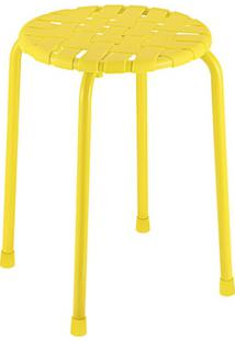 Banco Facile Amarelo 31.5X46Cm