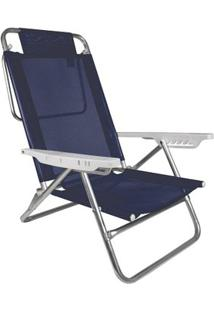 Cadeira Reclinável Summer - Unissex-Azul Escuro