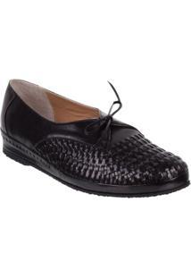 Sapato Feminino Marinucci S109 Trisse Preto