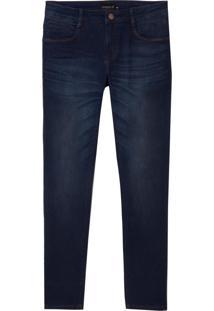 Calça Dudalina Jeans Stretch 5 Pockets Masculina (Jeans Escuro, 42)