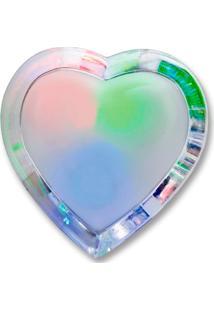 Luminária Led Noturna Coração 110V Rgb