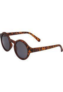 Óculos Ray Flector 256 Marrom/Preto - Kanui