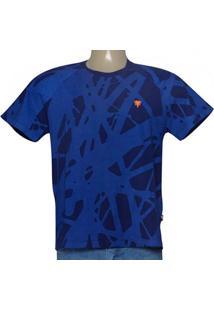Camiseta Masc Cavalera Clothing 01.01.9232 Azul