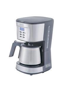 Cafeteira Gourmand Gris Programável Digital Cm300G-Br 900W 127V - Black&Decker