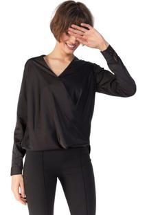 Camisa Transpasse Essential
