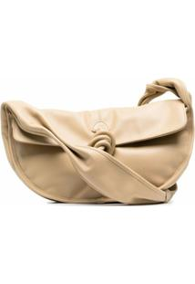 Hereu Nusa Leather Shoulder Bag - Neutro