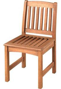 Cadeira Recanto Baixa Cor Stain Jatoba - 15675 Sun House