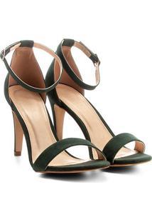 0db0bca546 ... Sandália Couro Shoestock Salto Fino Naked Feminina