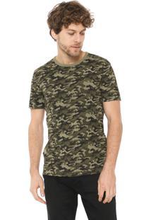 Camiseta Banana Republic Militar Verde