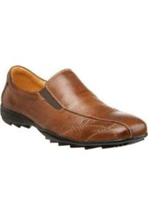 Sapato Social Sandro & Co Masculino - Masculino-Marrom