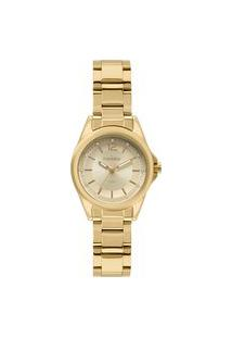 Relógio Condor Feminino Clássico Analógico Dourado Co2035Exdk4D