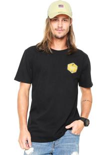 Camiseta New Era Core Pittsburgh Pirates Preta